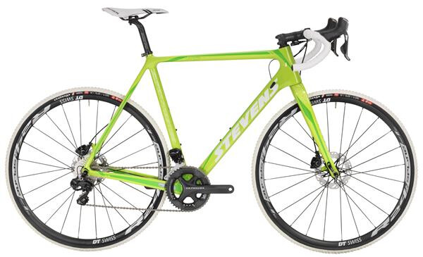 STEVENS - Super Prestige Disc Di2 Lime Green