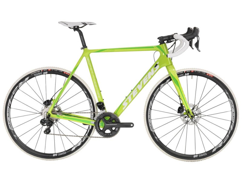 Stevens Super Prestige Disc Di2 Lime Green