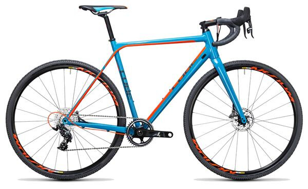 CUBE - Cross Race SLT blue´n´flashorange
