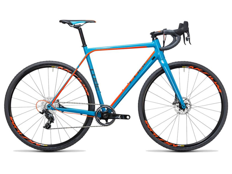 Cube Cross Race SLT blue´n´flashorange