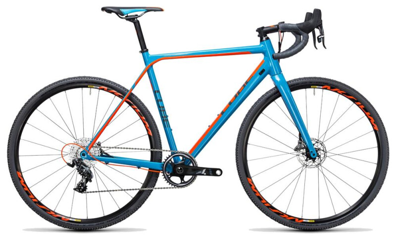 Cube Cross Race SLT blue´n´flashorange Rennrad