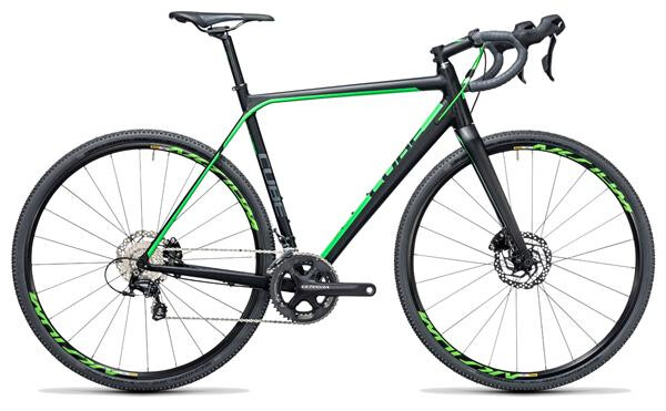 CUBE - Cross Race SL black´n´green