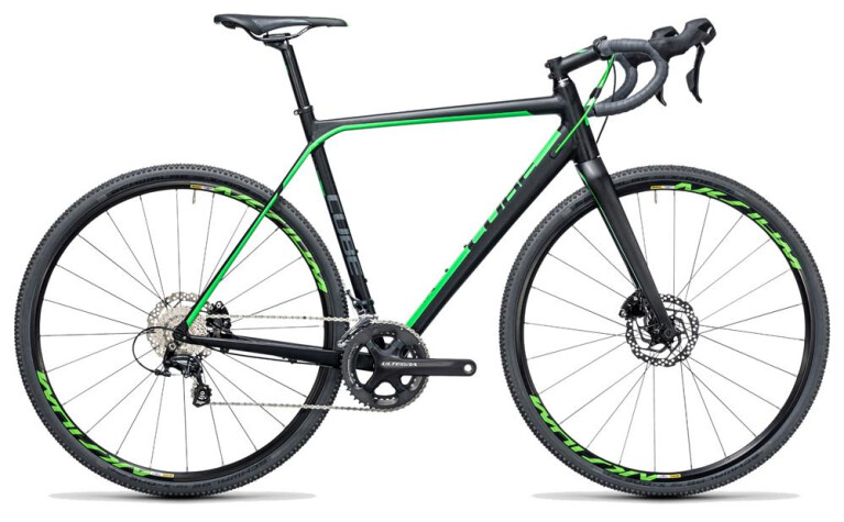 CUBE Cross Race SL black´n´green