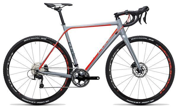 CUBE - Cross Race Pro grey´n´flashred