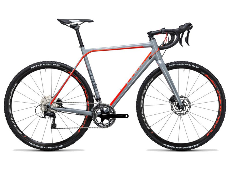 Cube Cross Race Pro grey´n´flashred
