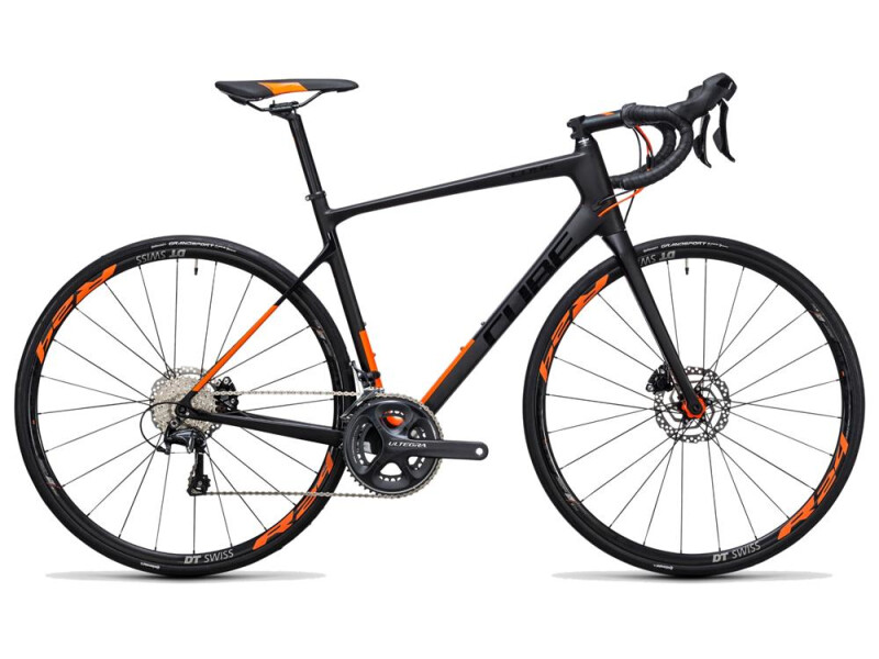 Cube Attain GTC SL Disc carbon´n´flashorange