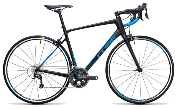 CUBE - Attain GTC Race carbon´n´blue