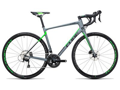 Cube Attain GTC Pro Disc grey´n´flashgreen