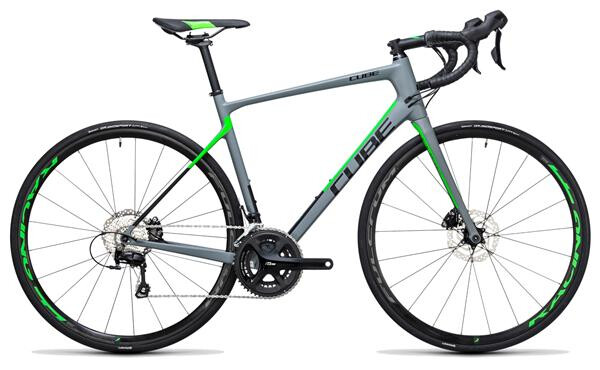 CUBE - Attain GTC Pro Disc grey´n´flashgreen