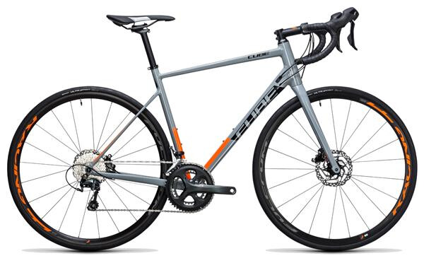 CUBE - Attain Race Disc grey´n´flashorange