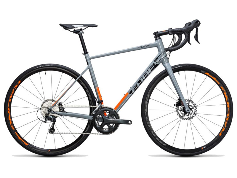 Cube Attain Race Disc grey´n´flashorange
