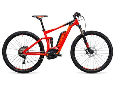 Cube Stereo Hybrid 120 HPA Race 500 red´n´flashorange