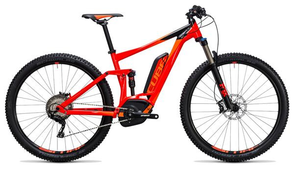 CUBE - Stereo Hybrid 120 HPA Race 500 red´n´flashorange