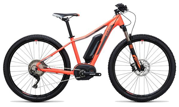 CUBE - Access WLS Hybrid Race 500 coral´n´grey