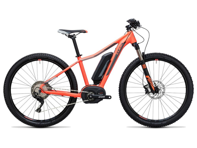 Cube Access WLS Hybrid Race 500 coral´n´grey