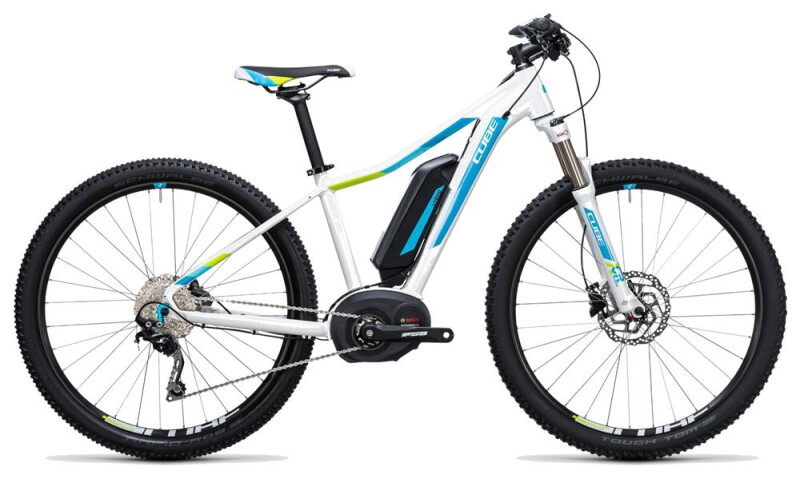 Cube Access WLS Hybrid Pro 400 white´n´blue E-Bike