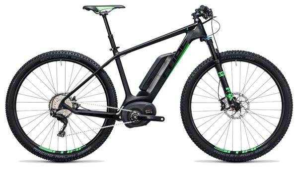 CUBE - Elite Hybrid C:62 SL 500 29 carbon´n´flashgreen