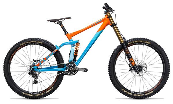 CUBE - TWO15 HPA SL 27.5 blue´n´orange