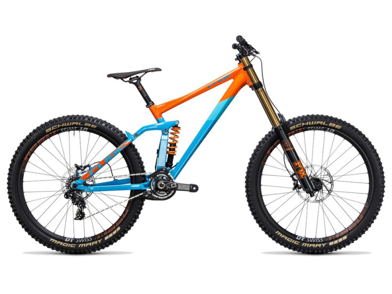 Cube TWO15 HPA SL 27.5 blue´n´orange