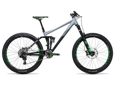 Cube Fritzz 180 HPA Race 27.5 black´n´grey