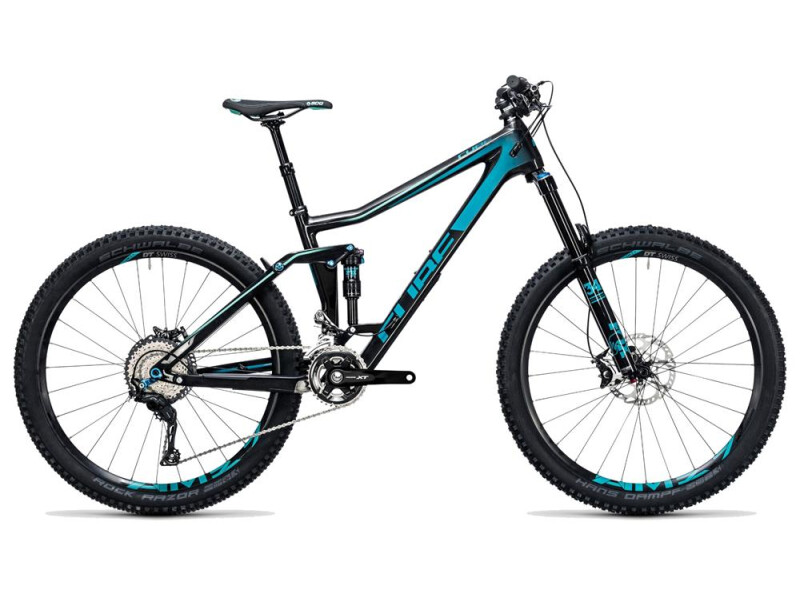 Cube Stereo 160 C:62 Race 27.5 carbon´n´blue