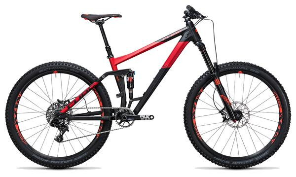 CUBE - Stereo 160 HPA Race 27.5 black´n´red