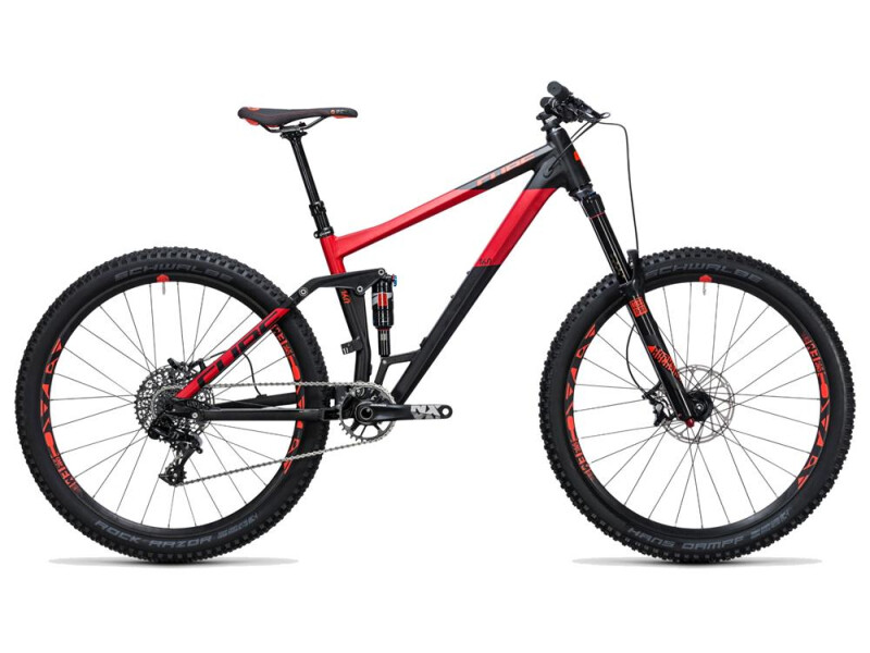 Cube Stereo 160 HPA Race 27.5 black´n´red