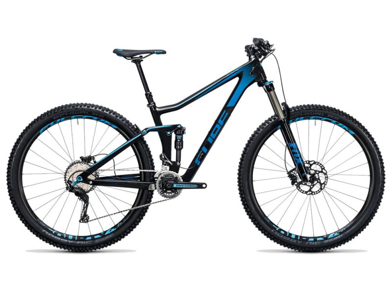 Cube Stereo 140 C:62 Race 29 carbon´n´blue