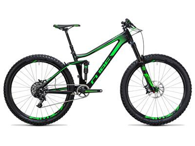 Cube Stereo 140 C:62 SL 27.5 carbon´n´green
