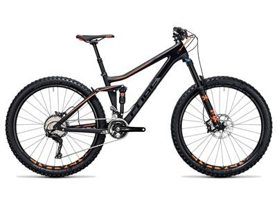 Cube Stereo 140 C:62 Race 27.5 carbon´n´flashorange