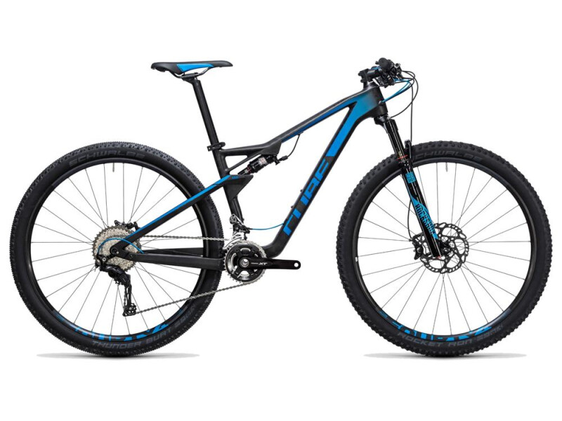 Cube AMS 100 C:68 Race 29 blue carbon