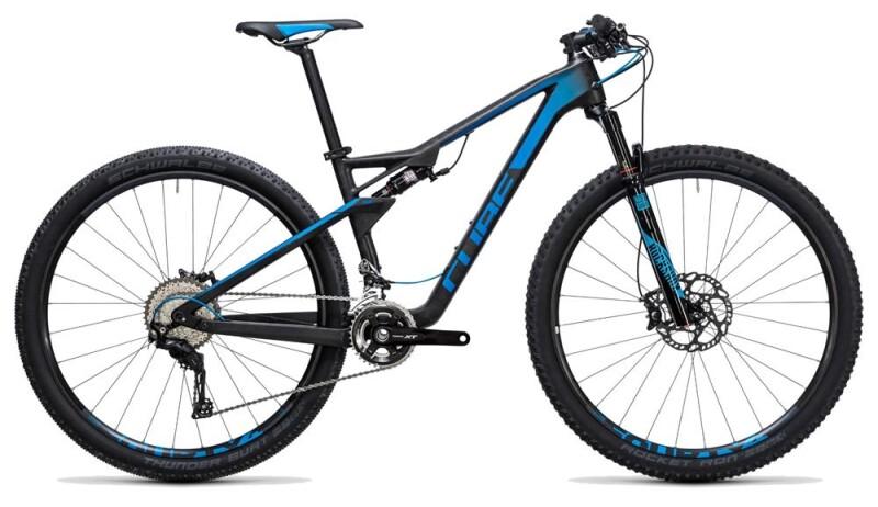 Cube AMS 100 C:68 Race 29 blue carbon