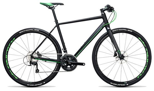 CUBE - SL Road Race black´n´flashgreen