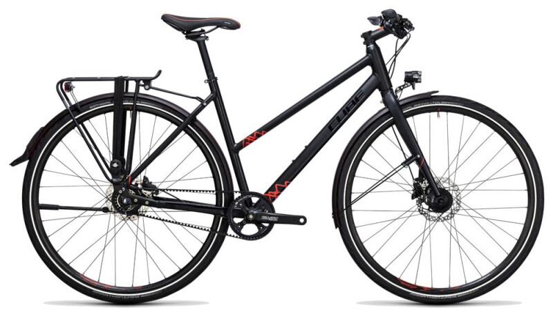Cube Travel SL black´n´red