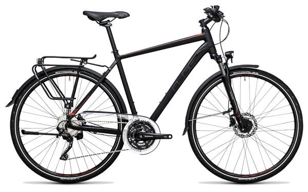CUBE - Touring SL black´n´flashred