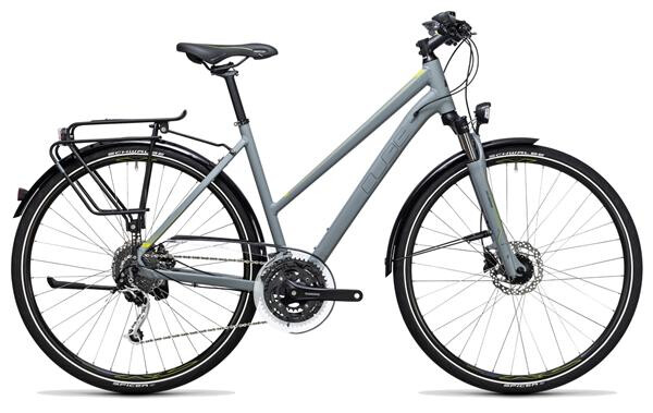 CUBE - Touring Exc grey´n´lime