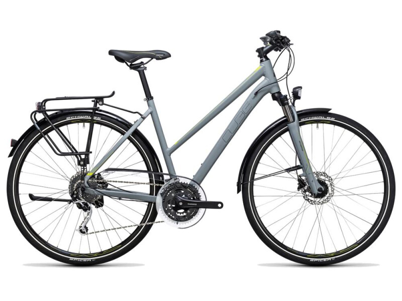 Cube Touring Exc grey´n´lime