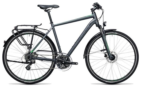 CUBE - Touring Pro grey´n´flashgreen