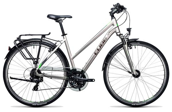 CUBE - Touring silver´n´flashgreen