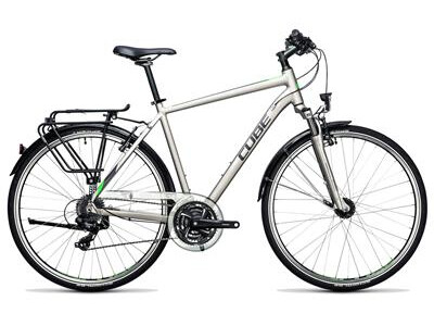 Cube Touring silver´n´flashgreen