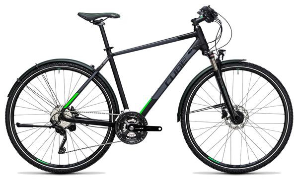 CUBE - Cross Allroad black´n´flashgreen