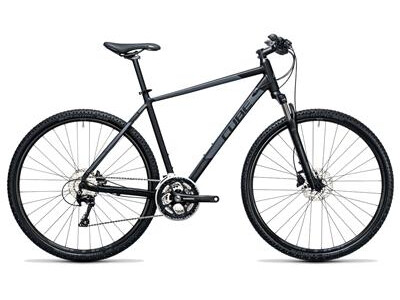 Cube NATURE PRO black-grey XT