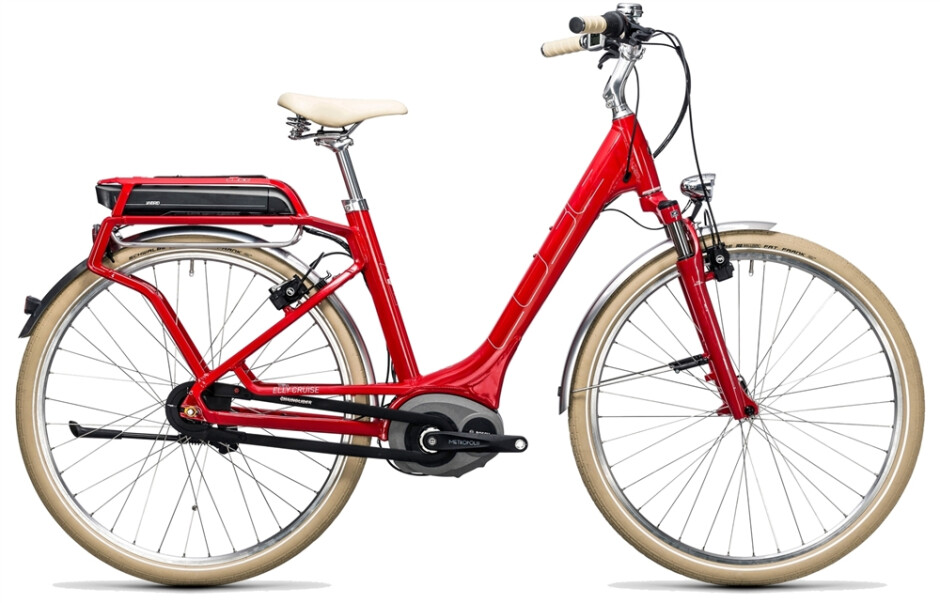 CubeElly Cruise Hybrid red