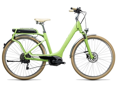 Cube Elly Ride Hybrid 500 green´n´white