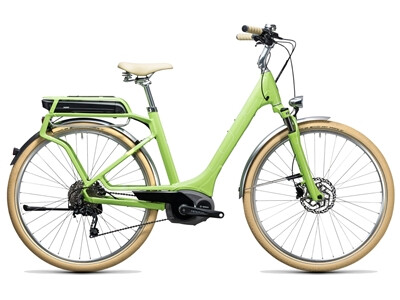 Cube Elly Ride Hybrid 400 green´n´white