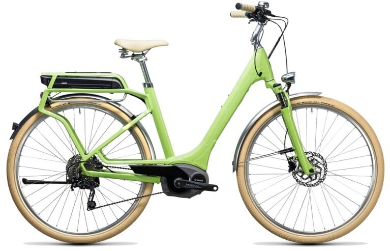 CUBEElly Ride Hybrid 400 green´n´white