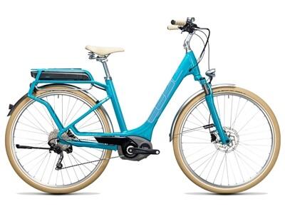 Cube Elly Ride Hybrid 500 blue´n´aqua