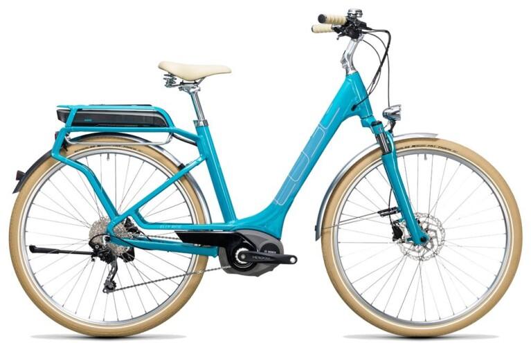 CUBEElly Ride Hybrid 400 blue´n´aqua