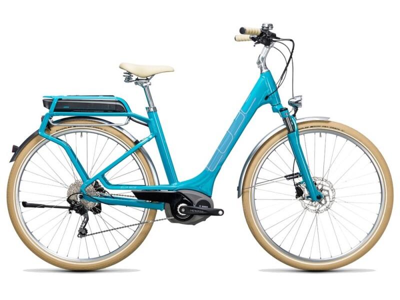 Cube Elly Ride Hybrid 400 blue´n´aqua