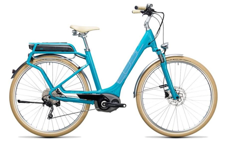 Cube Elly Ride Hybrid blue